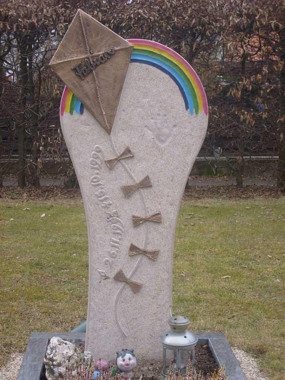 Grabstein aus Jura-Kalkstein