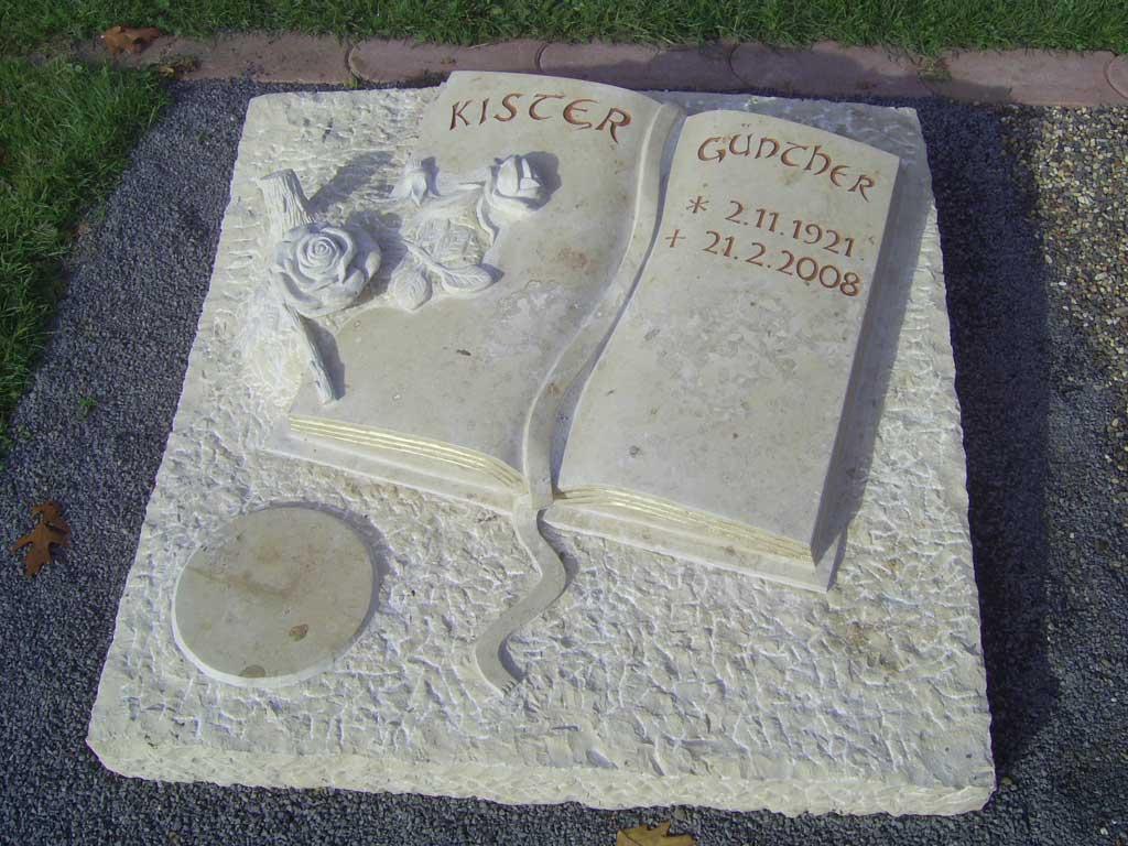 Grabstein aus Jurastein