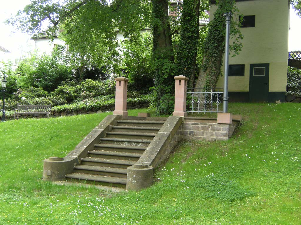 Steintreppe